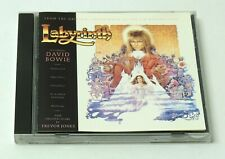 LABYRINTH Soundtrack OST CD 1986 TESTED VG Cond. RARE OOP Jim Henson David Bowie