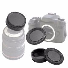 1 Set Body Cap and Lens Rear Cap Set for Nikon F Mount SLR DSLR Camera US