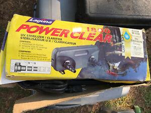 Laguna Power Clear 1800 sealed  UV Sterilizer/Clarifier
