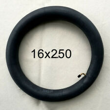 Electric Scooter Tire Tyre 16x2.125/2.50 Inner Tube Butyl Rubber Black For Ebike