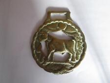 Vintage Solid Horse Brass Bull