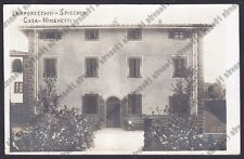 PISTOIA LAMPORECCHIO 03 SPICCHIO - CASA MINGHETTI Cartolina VIAG 1926 REAL PHOTO