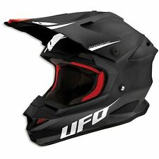 CASCO MOTO CROSS Ufo Interceptor Prime Nero  2015 TG L