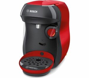 TASSIMOby Bosch Happy TAS1003GB Coffee Machine - Red