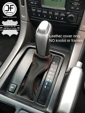RED STITCH TOP GRAIN LEATHER AUTO AUTOMATIC GEAR BOOT FOR HOLDEN MONARO 01-06