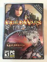 GUILD WARS FACTIONS - Platinum Edition (PC, 2008) WOW