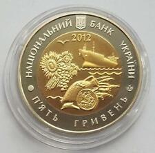 "Ukraine coins 5 hryvnias 2012 ""75 years of the Nikolaev region"""