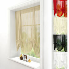Voile Solid Modern Curtains & Pelmets