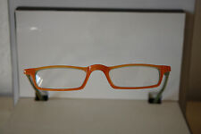 Opdo Lesebrille Orange Kunststoff 8125.4  UVP 59,00€ Lunettes Eyeglasses