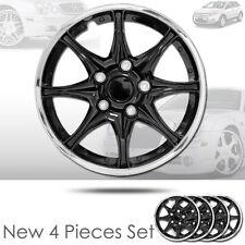 New 16 inch Black Hubcaps Wheel Covers Full Lug Skin Hub Cap Set 522 For Ford