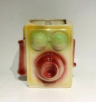Vintage Shawnee USA Pottery Figural Telephone Wall Pocket