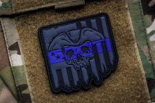 We The People Thin Blue Line 3D PVC Morale Patch Moeguns Police TBL SWAT Patriot