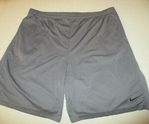 NIKE Dri-Fit Men's Athletic Shorts X-Large Grey