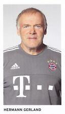FOOTBALL carte assistant trainer HERMANN GERLAND équipe BAYERN MUNICH
