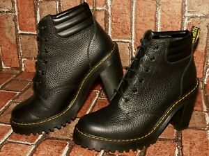 Dr Martens PERSEPHONE aunt sally leather ankle boots uk 6.5 eu 40 us 8.5 doc#294