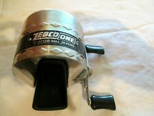 NICE Early ZEBCO ONE VINTAGE FISHING REEL - Very Clean - No Line Made USA EX