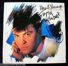 PAUL YOUNG-Rare Autographed NO PARLEZ Album-Rare Full Signature-Mint Vinyl