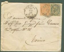 REGNO. DE LA RUE. Lettera del 29.12.1864 da Genova per Torino. Affrancata con...