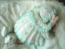 """perezoso-Daisy"" fácil tejer patrón para bebé 0-3mth O Muñeca Reborn. #19"