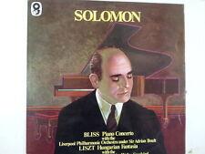 LP BLISS concerto LISZT hungarian fantasia SOLOMON