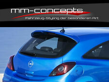 Opel Corsa D Dachspoiler Dach Spoiler Heck Heckspoiler 2 / 3 Türer OPC Design