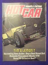 HOT CAR - ROVER V8 - July 1979 vol 12 #4