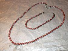 Enamel Silver Bracelet Vintage Costume Jewellery