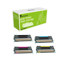 Laser X746H1KG HY + X746A1CG MG YG Remanufactured Made in USA Toner For Lexmark