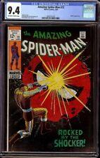 Amazing Spider-Man # 72 CGC 9.4 OW/W (Marvel, 1969) Shocker appearance, scarce