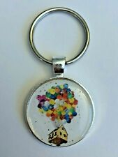 Key Chain Mickey Disney Up Balloons House Adventure is Out There