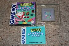 Kirby's Pinball Land (Nintendo Game Boy) Complete in Box GREAT