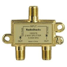 *NEW* RADIO SHACK 2-WAY SPLITTER BI-DIRECTIONAL 5MHZ 3GHZ-1500378