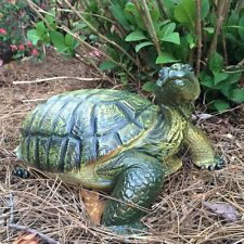 Garden Turtle Tortoise Statue Sculpture, Realistic Yard Decor, Lawn Ornament