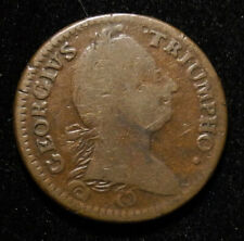 1783 Triumpho Us Copper Colonial Georgivs Coin Free Shipping