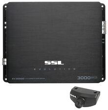 New SSL SOUNDSTORM EV3000D 3000W MONO D Car Audio Amplifier Power Amp MOSFET
