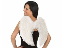 Paire d'AILES plumes BLANCHES déguisement Femme Homme Ange Halloween NEUF
