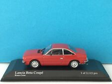 Minichamps 1:43 Lancia Beta Coupé 1981 Red Modell Nr. 400 125720