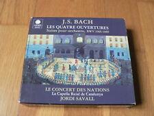 Savall - Bach : Quatre Ouvertures, Suites pour Orchestre BWV1066-69 - 2CD Astrée