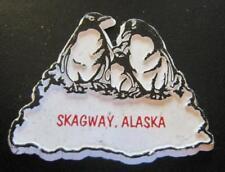 SKAGWAY, ALASKA USA 3D FRIDGE HARD MAGNET
