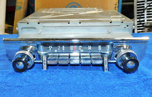 1956 Ford Fairlane Skyliner Sunliner NOS MOTOROLA TOWN & COUNTRY AM RADIO ASSEM