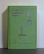 Production of Landscape Plants, Trees,  Large and Small, Horticulture