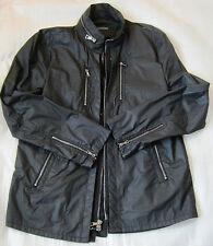 JOHN VARVATOS  black CARGO COAT JACKET overcoat   EU size 54 US 44