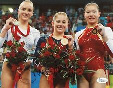 Shawn Johnson Signed Autograph 8x10 Photograph Olympics Gold USA Gymnastics JSA