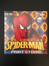 PC DVD The Amazing Spiderman Print Studio, new and in packaging
