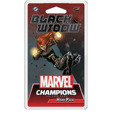 Marvel Champions LCG ~ BLACK WIDOW Hero Pack - 60 cards ~ New Sealed presell 4/3