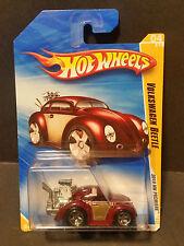2010 Hot Wheels #4 New Models 4/52 - Volkswagen Beetle - Brown - R0919