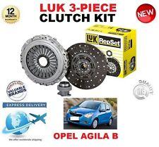 Per OPEL AGILA B 1.2 1.2 LPG Hatchback 2008-ON ORIGINALE LUK 3 Pezzi Kit Frizione