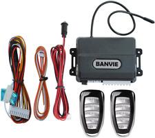 BANVIE Universal Car Remote Central Door Locking Keyless Entry System with Windo