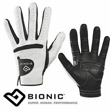 NEW BIONIC MENS RELAX GRIP GOLF GLOVE ORTHOPAEDIC PADDED GLOVES