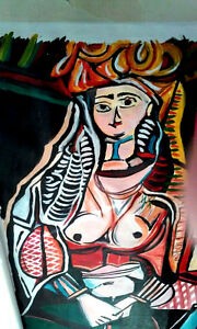 My WOMEN OF ALGIERS PAINTING
